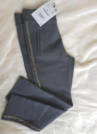 Стильные брюки zara для девочки