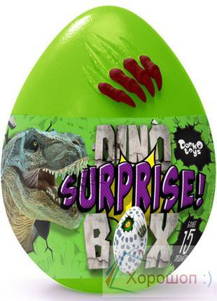 Яйцо сюрприз динозавра 30 см. - Dino surprise box Danko Toys