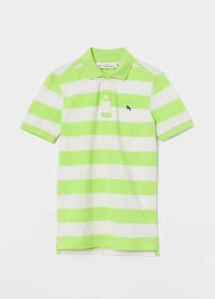 12-14/14+ лет h&m фирменная новая тенниска футболка поло стиль...