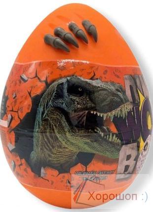 Яйцо сюрприз динозавра 35 см. - Dino wow box - Danko Toys