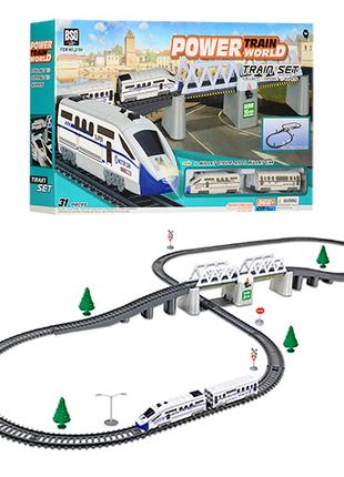 Детская железная дорога Железная дорога с поездом арт. 2184