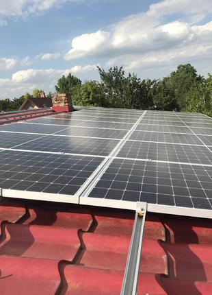 Солнечные станции 30кВт, Зеленый тариф.3 года окупаемость. Панели