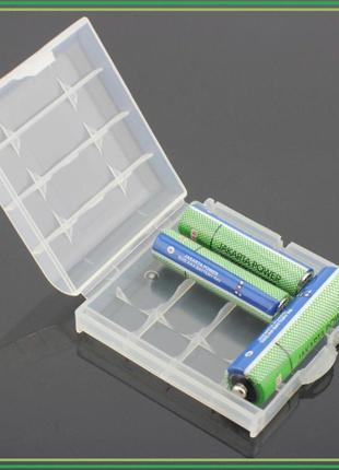 Бокс, коробка для хранения АА/ААА аккумуляторов