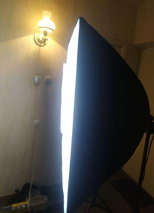 Комплект постоянного студийного света