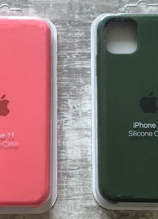 Silicone case на iPhone 6 7+ 8+ X Xs Xr 11 11 Pro Max
