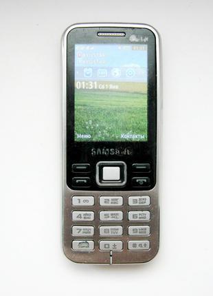 Б/У Мобильный телефон Samsung GT-C3322 Duos (2 SIM, FM, Bluetooth