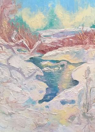 Картина масляная живопись