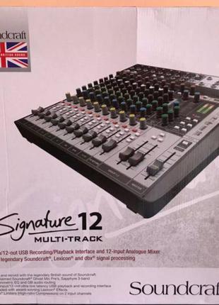 Soundcraft Signature 12 MTK/ Yamaha/ Dynacord