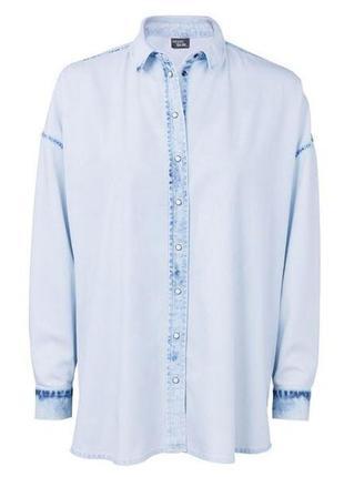 Стильная джинсовая рубашка оверсайз Esmara by Heidi Klum Германи