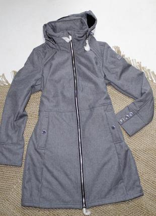 Куртка one street удлиненная плащ размер  36