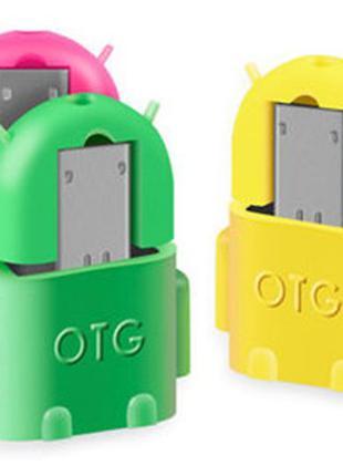 OTG переходник MicroUSB - USB