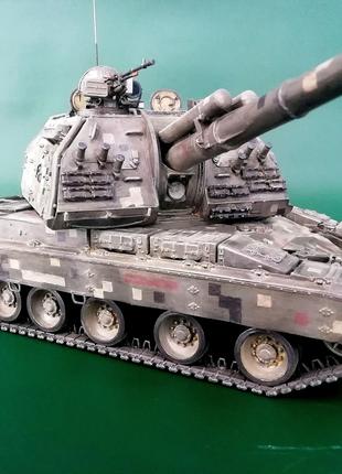 Масштабная модель 2С19 МСТА