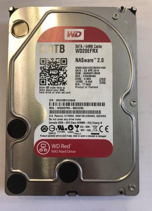 Жосткий диск WD Red 2Tb WD20EFRX