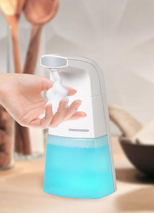 Автоматический диспенсер для жидкого мыла. Дозатор мыла пены.