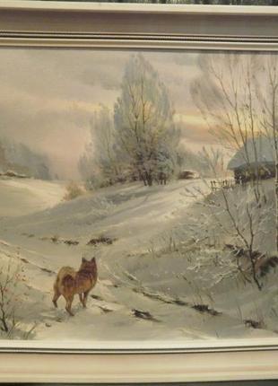 """Картина """"Утро"""", холст, масло, 42х60, художник Борец В."""