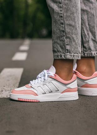 Кроссовки Adidas Drop Step White\Pink