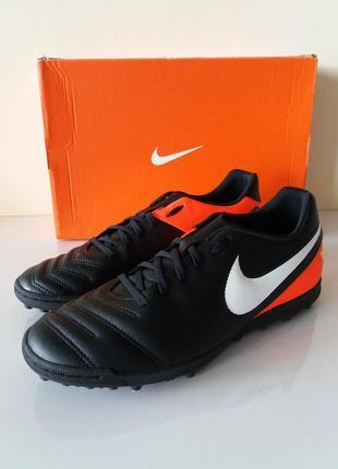 Оригинальные сороконожки Nike Tiempo Rio III TF