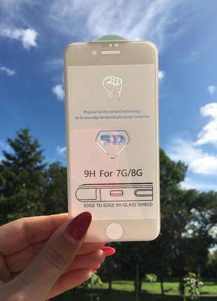 Захисне скло на айфон 5d apple iphone
