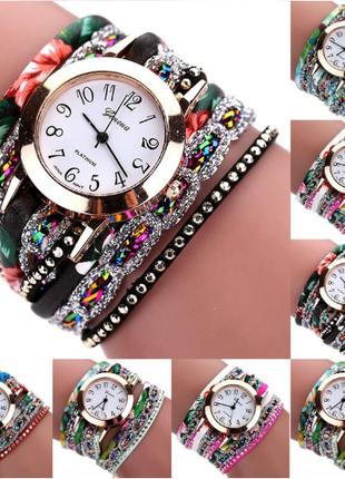 Впусти в свою жизнь радость. Женские часы-браслет+подарок !
