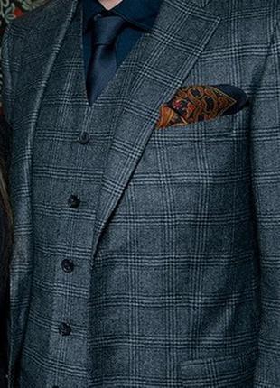 Мужской платок-паше для пиджака (карманный нагрудный платок)  ...