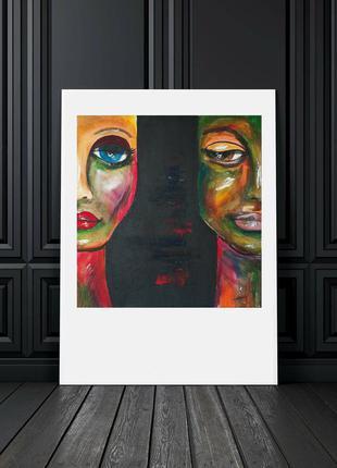 Картина-постер  30х40