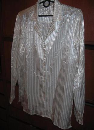 Пижама под шелк белая