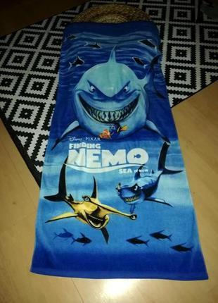 Полотенце disney pixar nemo ярко-синее