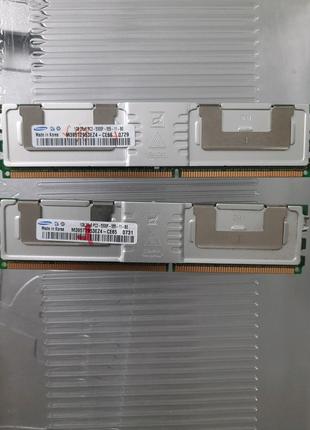 2шт. Samsung 1gb ddr2 5300F 667Mhz Fb-dimm для серверов и рабочих