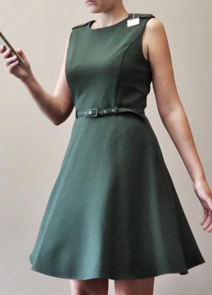 Новое мини платье с трендовым поясом