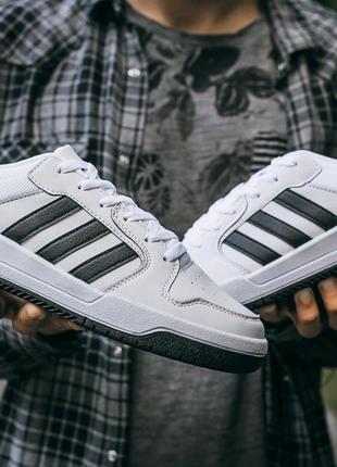 "Кроссовки Adidas New Forum ""White\Black"""