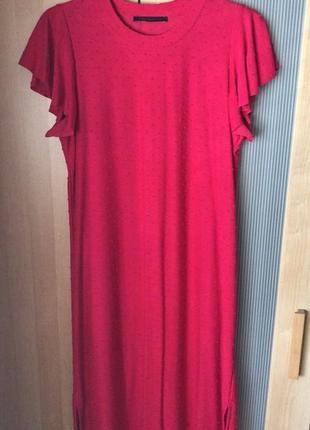 Marks & spencer яркое платье