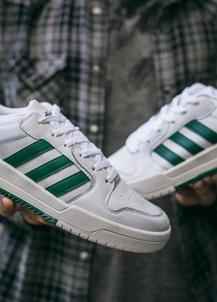"Кроссовки Adidas New Forum ""White\Green"""