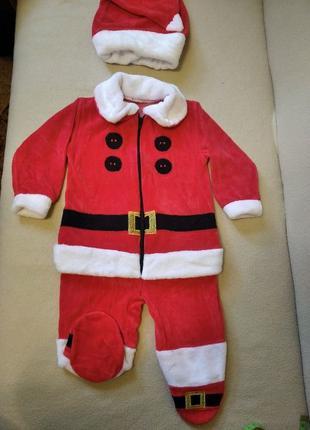 Продам детский новогодний костюм Санта Клауса на возраст до 6 ...