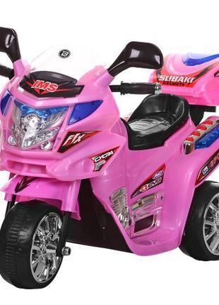 Детский мотоцикл на аккумуляторе M 0638 розовый