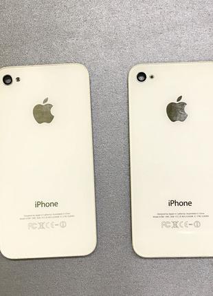 Крышка задняя корпус панель телефона Apple айфон Iphone 4/4s