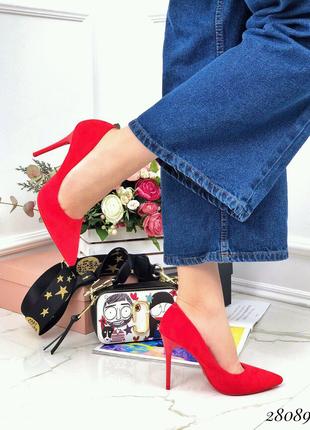 Туфли замшевые Comer 35-40