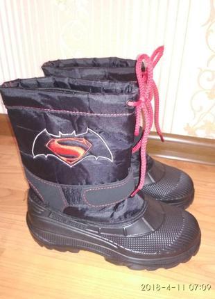 Новые зимние ботинки сапоги для мальчиков. размер 36/37