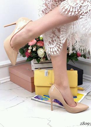 Туфли лакированные Comer 35-40