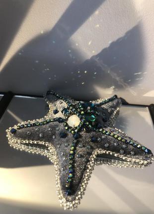 Брошь «звезда морская»