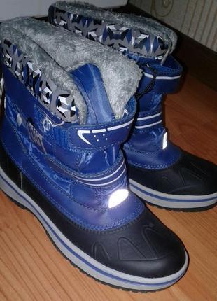 Новые детские зимние сапоги ботинки полусапоги pepperts.