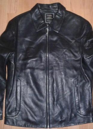 Codaobao мужская натуральная кожаная куртка.  италия. новая