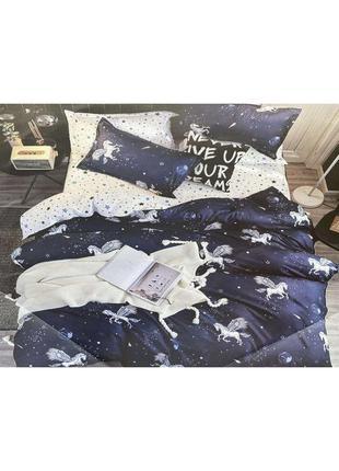 Комплект постельного белья бязь pegas (ab 15222) тм крис-пол