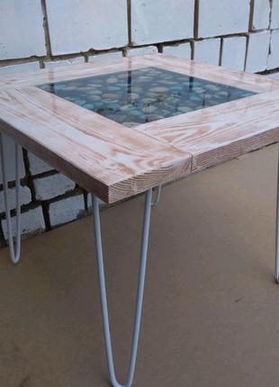 Кофейный столик. Ручная работа
