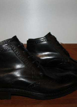 Ecco высокие кожаные ботинки