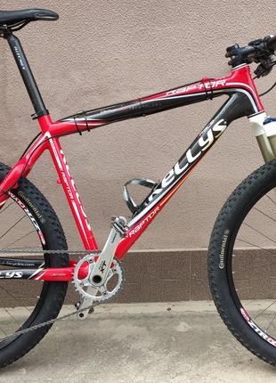 Велосипед карбоновый Kellys Raptor 26er (размер L, 19.5)