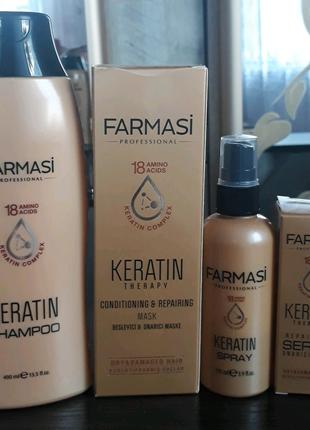 Набор для волос Кератин