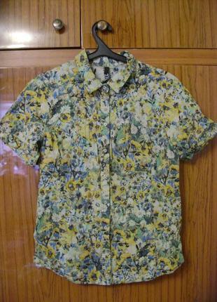 Блузка из натуральной ткани фирмы 27.01.