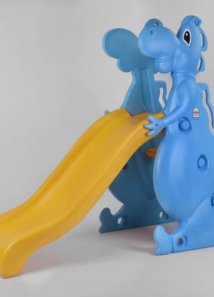 Детская горка Dino slide 06-