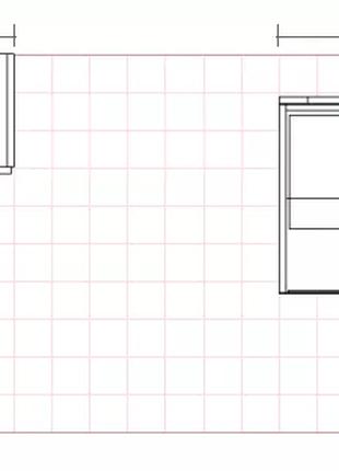 Шкаф и витрина для торгового островка