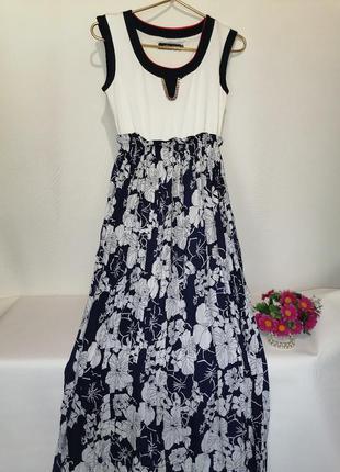 Платье длинное, летнее